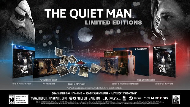 The Quiet Man release date set and limited editions revealed
