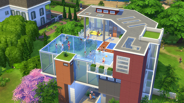The Sims get more tools for playing in pools