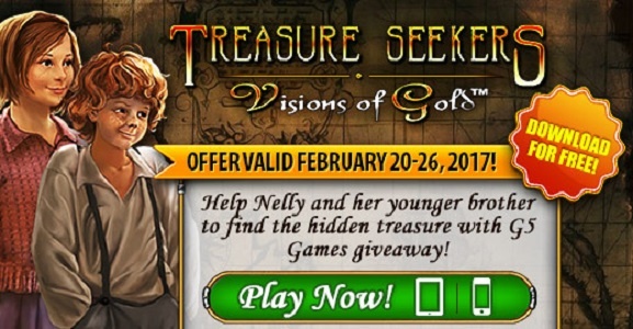 Treasure Seekers: Visions of Gold available for free this week on iOS