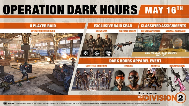 The Division 2 set to launch Operation Dark Hours