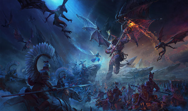 Total War: Warhammer III revealed