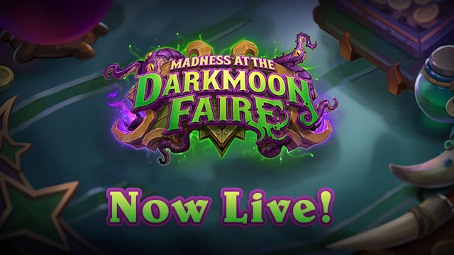 Hearthstone opens Darkmoon Faire