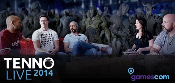 Warframe hosting live audience dev stream at Gamescom