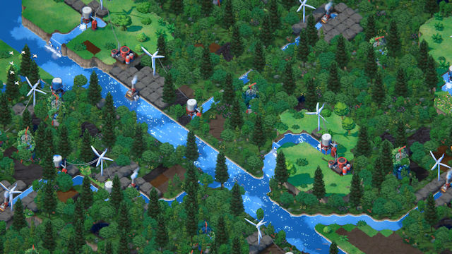Reverse city-builder Terra Nil coming to Steam