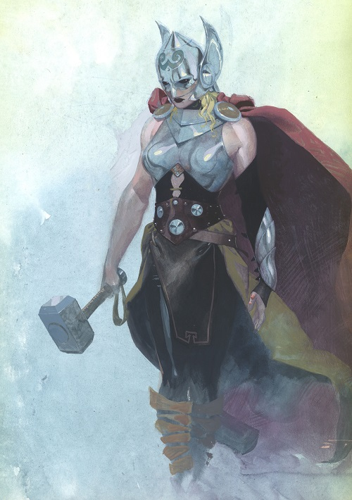 Marvel unveils new female Thor