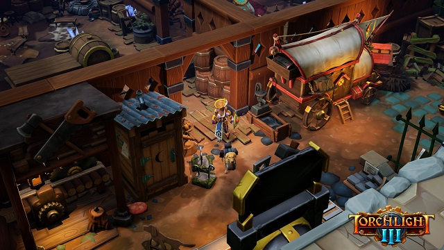 Torchlight III player fort feature revealed