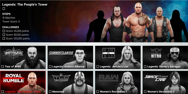 WWE 2K19 reveals Towers mode