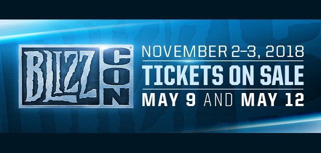 BlizzCon 2018 dates announced