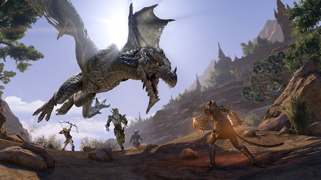 The Elder Scrolls Online unleashes the dragons