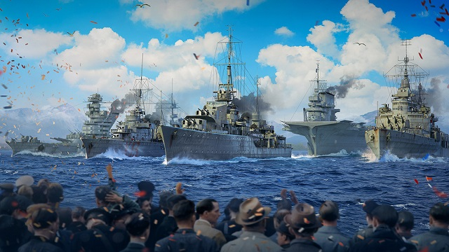 World of Warships hosting virtual parade to commemorate anniversary of end of WW2