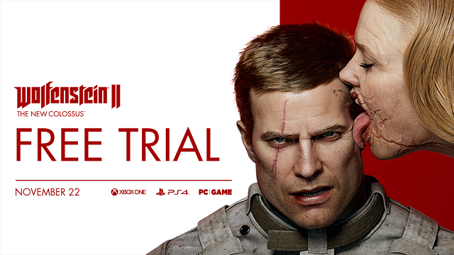 Wolfenstein II free trial available