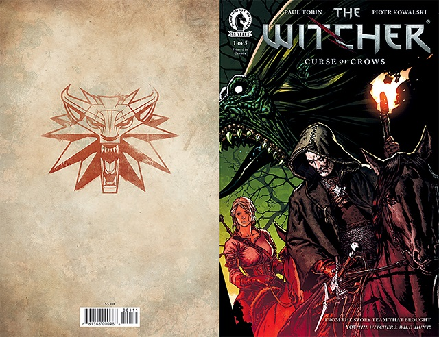 The Witcher comic available in print at PAX West