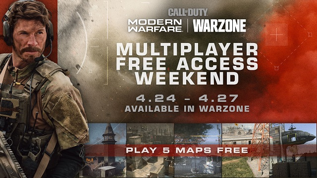 Modern Warfare multiplayer being opened to Warzone players