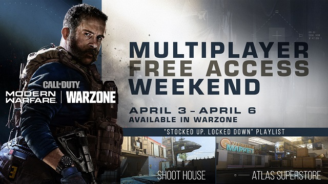 Jump into Modern Warfare multiplayer for free this weekend