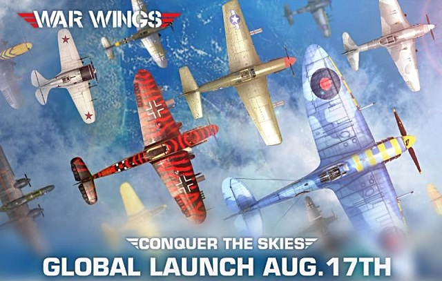 War Wings takes off on mobile