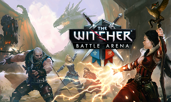 The Witcher enters the Battle Arena