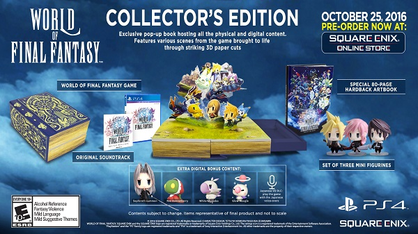 World of Final Fantasy collector's editions revealed