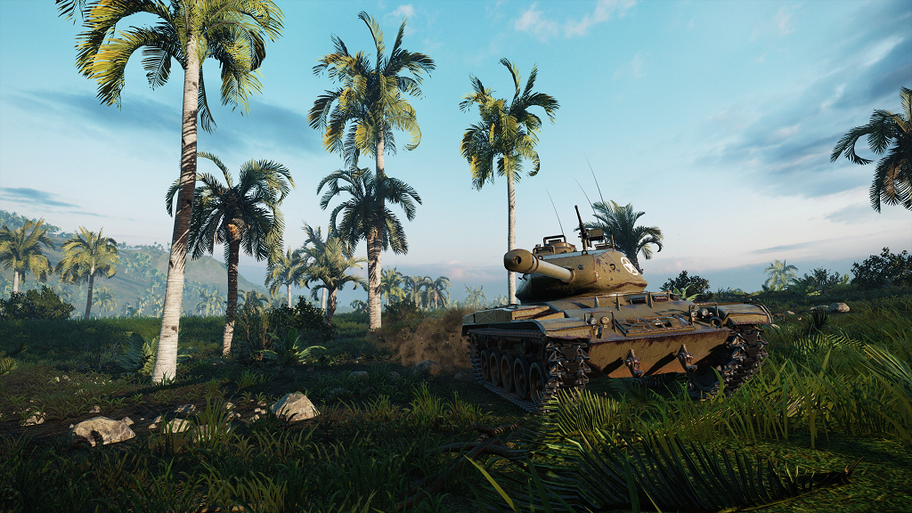 World of Tanks launching Kennedy's War