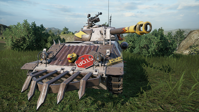 Tank Girl artist Brett Parson creates line of tanks for World of Tanks: Mercenaries