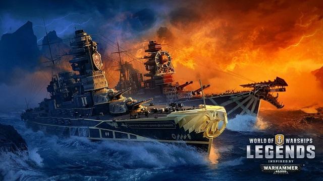 Warhammer invades World of Warships: Legends