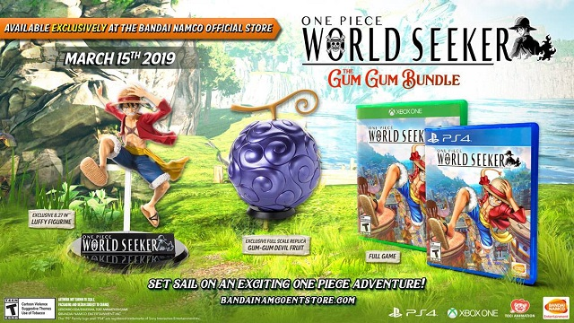One Piece: World Seeker release date set, Gum Gum bundle revealed
