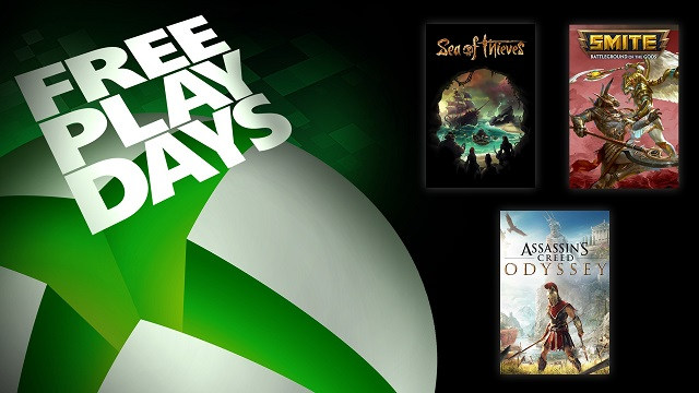Xbox has three for free this weekend