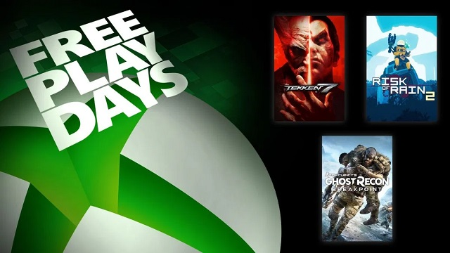 It's raining free games on Xbox this weekend