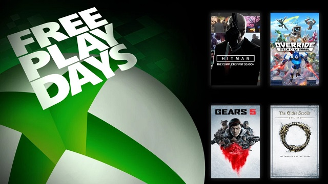 Gears 5 and Hitman free-to-play this weekend