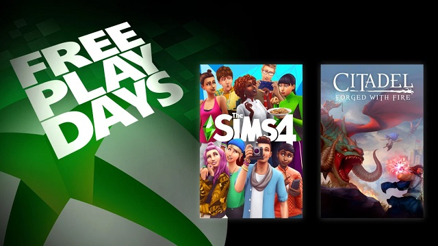Play The Sims 4 and Citadel: Forged with Fire for free