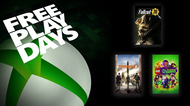 Xbox launches Free Play Days in honor of E3 week