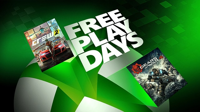 Play Gears of War 4 and The Crew 2 for free