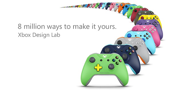 Xbox Design Lab starts shipping custom controllers
