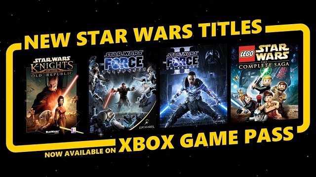 Xbox Game Pass goes Star Wars