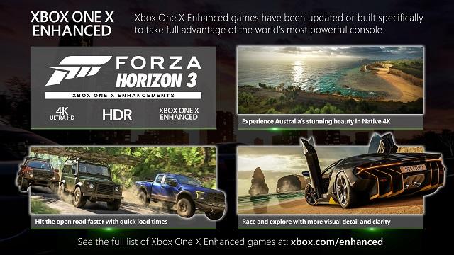 Forza Horizon 3 gets Xbox One X enhancements