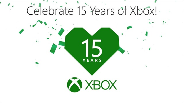 Xbox turns 15 today and celebrates with in-game events and giveaways