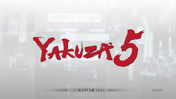 Yakuza 5 now available for pre-order
