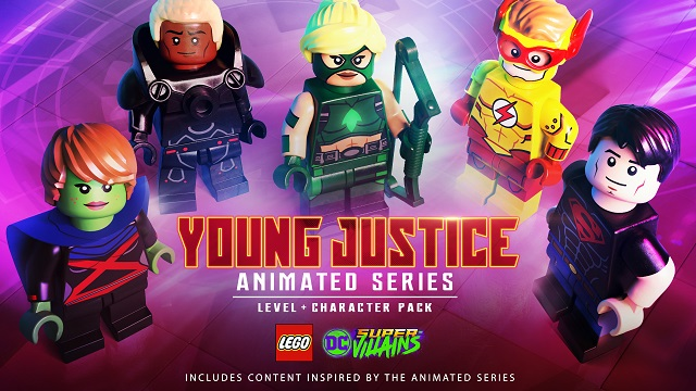 Young Justice joins LEGO DC Super-Villains