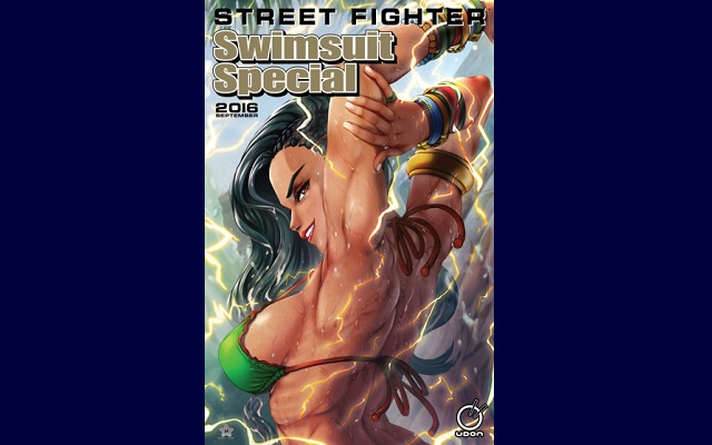 Street Fighter Swimsuit Special hits streets in September