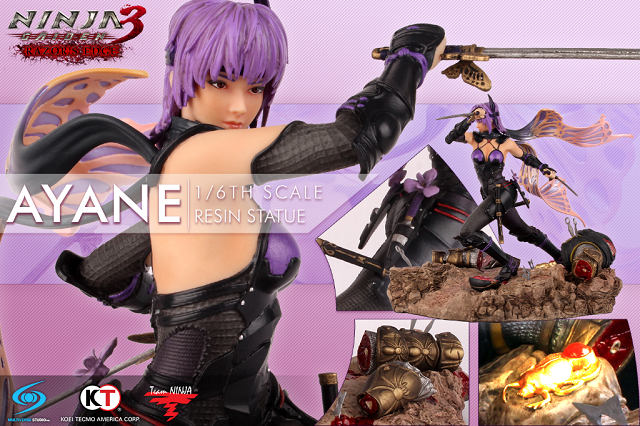 Ayane statue available at San Diego Comic-Con