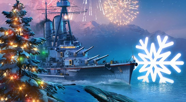 The holidays come to World of Warships