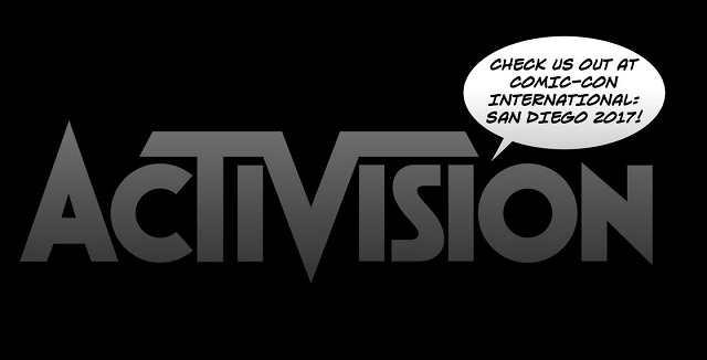 Activision hosting three game panels at Comic-Con