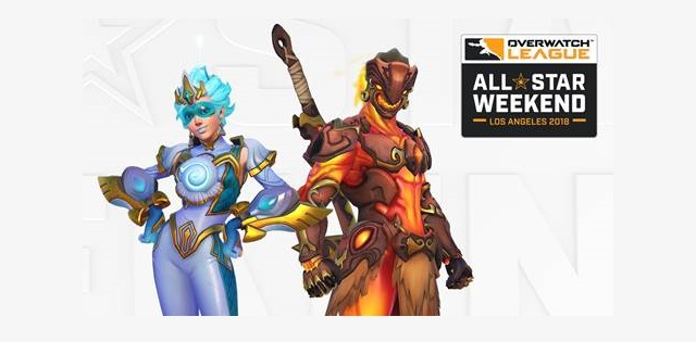 Overwatch League All-Star Weekend game modes revealed