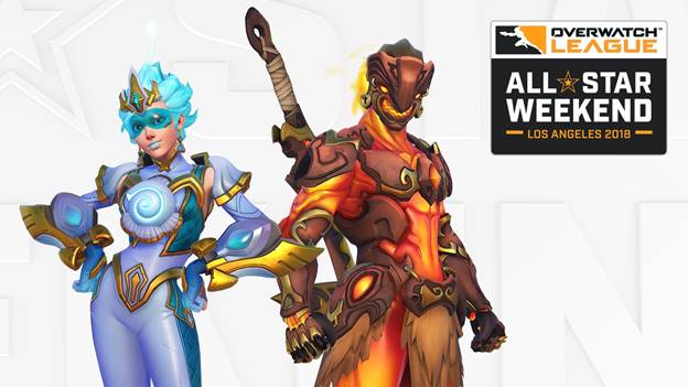 Overwatch celebrating All-Star Weekend with legendary skins