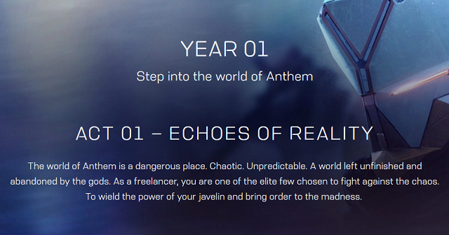 Anthem 90-Day roadmap revealed