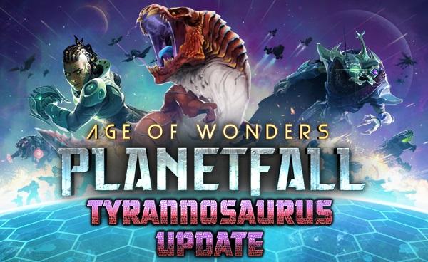 Age of Wonders: Planetfall unleashes Tyrannosauruses