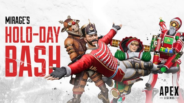 Apex Legends launches Mirage's Holo-Day Bash