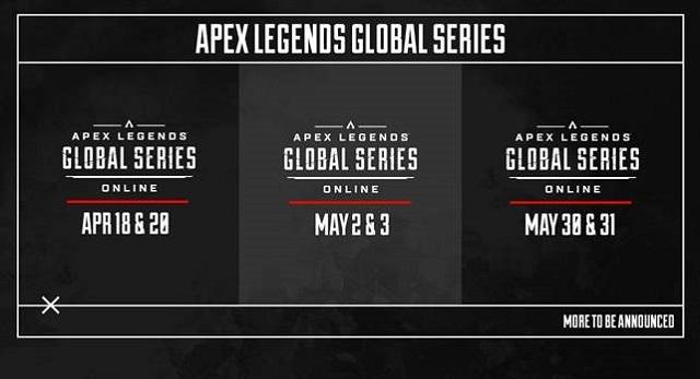 Apex Legends Global Series schedule updated