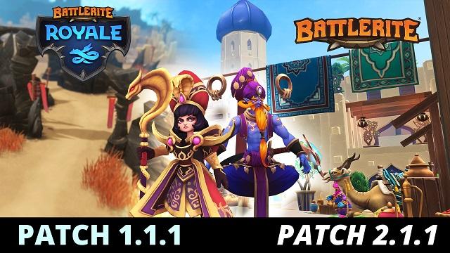 Battlerite heads to the desert