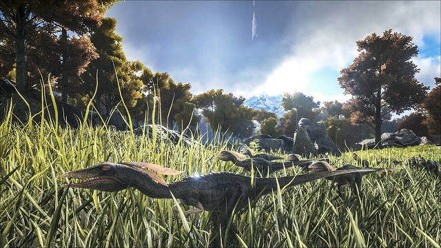 ARK: Survival Evolved gets a little Compy