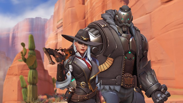 Ashe joins Overwatch